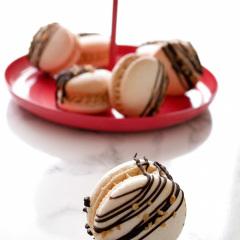 Mokka Macarons
